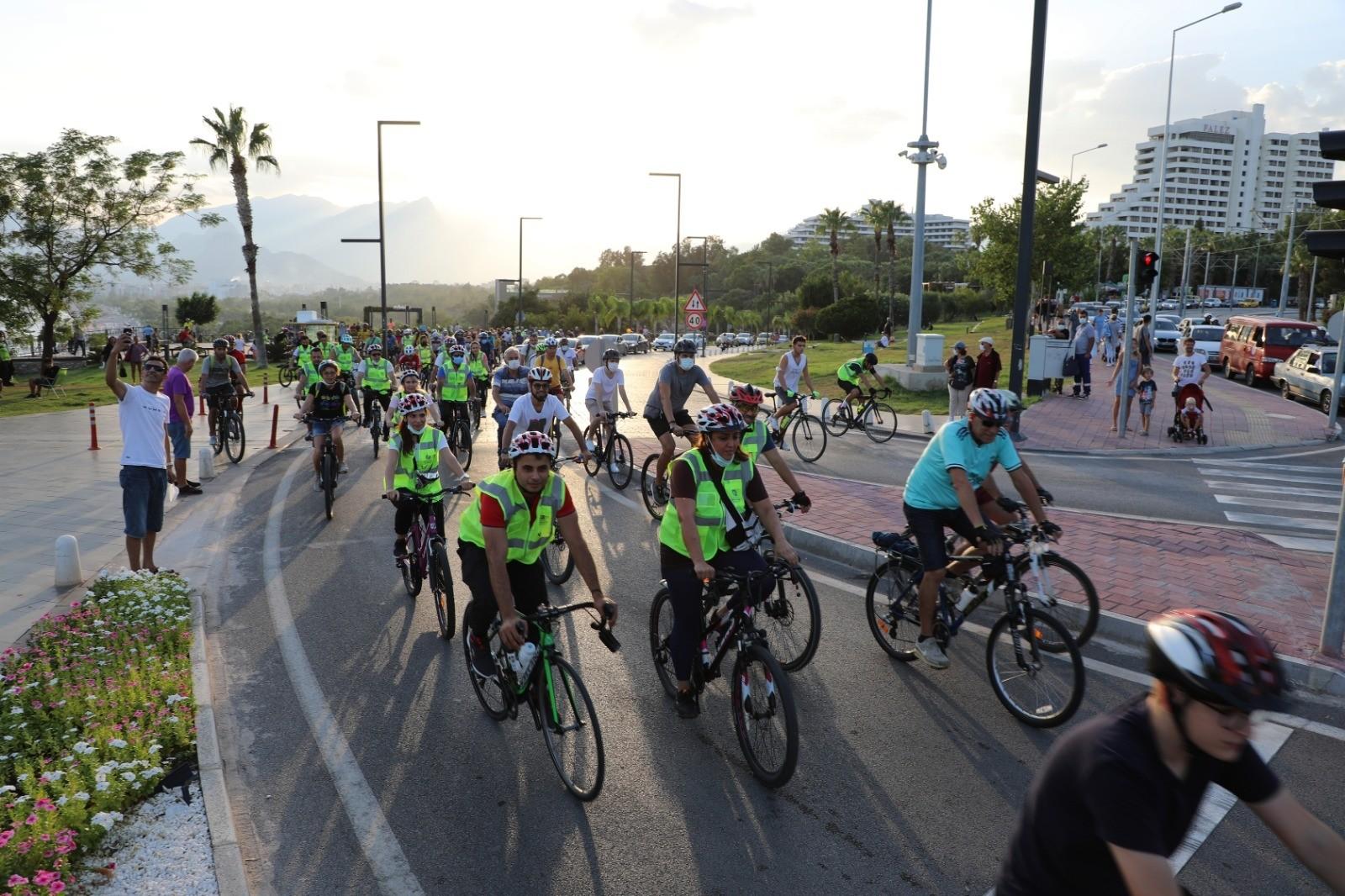 Avrupa Hareketlilik Haftası kapsamında bisiklet turu